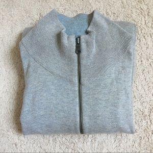 GAP 100% cotton zip up sweater